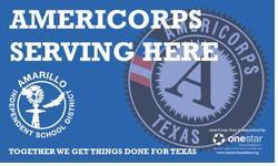 Amarillo ISD AmeriCorps logo